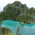 View over Raja Ampat
