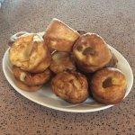 Homemade Yorkshire puddings