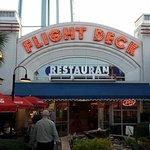 Flight Deck Entrance at Dusk
