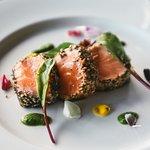 Seared Salmon Sashimi (New Menu)