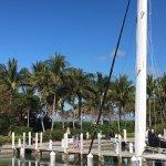 The dock at South Seas Resort