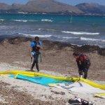kite spot Mallorca edmkpollensa ecole de kite preparer le matos por naviguer