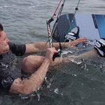 positioner a la planche de kiteboard edmkpollensa Portblue ecole de kite a Majorque
