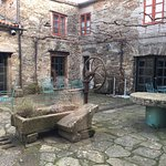 This is the inner courtyard