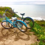 We rented bikes from the concierge to explore a nearby nature preserve.