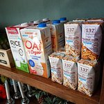 we are only one in Koh chang that you can find many special milks (not dairy) from here