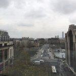Vue sur Paris, sous temps nuageux !