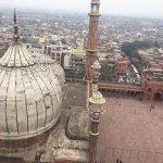 Taken from one of the minarets of Jama Masjid
