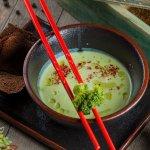 Крем суп из брокколи с имбирем (Детокс меню)
