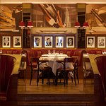 The Colony features murals of classic American 1920s sporting venues by US artist John Mattos