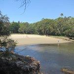 Parsley Bay, safe bathing and sandy beach
