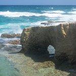 Atlantic Coast natural bridge