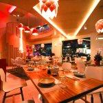 Asian fusion cuisine