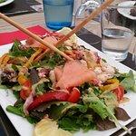 Salade de la mer fraiche et gourmande
