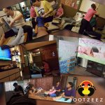 Footzee'z therapists are brought to other countries for training