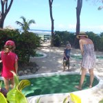 Mini-golf by the beach
