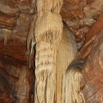 Powell Column (Angel formation) see on tour of Talking Rocks Cavern