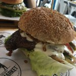 The beefy burger!!