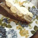 Banoffi pie (banana and cream)