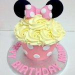 The Minnie Mouse Giant Cuocake