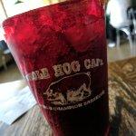 Whole hog cups.