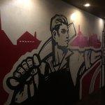 Graffiti alle pareti