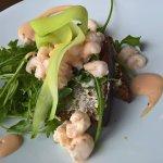 ... an excellent prawn marie rose starter ...