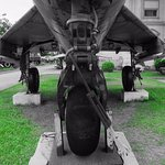Undercarriage shot MiG 21