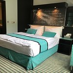 Red And Blue Design Hotel Photo