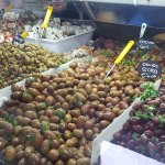 Delicious delicacies at the local market, a few minutes walk from the guesthouse