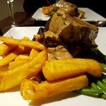 Blade of beef dinner