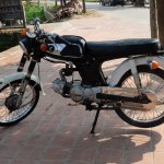Honda mid 60;s absolute ringer for my Yamaha 80 BVL 244C