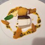 Passionsfrucht Joghurt-Schnitte