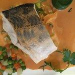 Dos de sandre sur fondue de poireaux