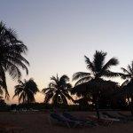 朝焼けの浜
