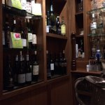 nice selection of wine and alcohol
