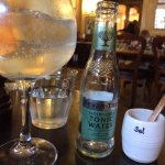 A lovely selection of gins are available