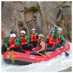 Rafting New Zealand Foto