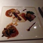 Rabbit. ragout pastry - Jerusalem artichoke - red cabbage - mustard