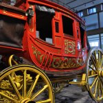 Carriage at Briscoe Art Museum