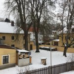 Omabiergarten im Winter