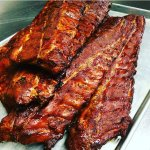 Competition ribs ready to serve!