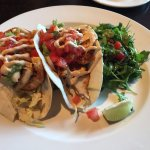 Delicious fish tacos - exactly what I was craving (preggo lady here). Yum!