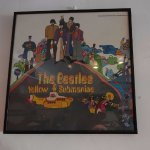 Yellow Submarine picture on the wall of Go Fish
