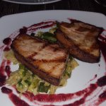 sprouts and pork belly - yummy
