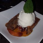 sticky toffee pudding .... more like fancy bread pudding