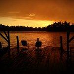 Sunset from Wakemup Cabin