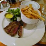 Steak Frites Bavette (choice of béarnaise or bordelaise sauce)