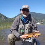 lake fishing for browns