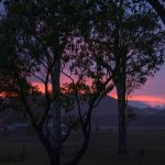 Fantastic sunset over the Bucketts
